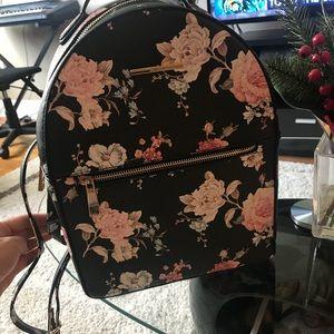 Cute aldo floral backpack
